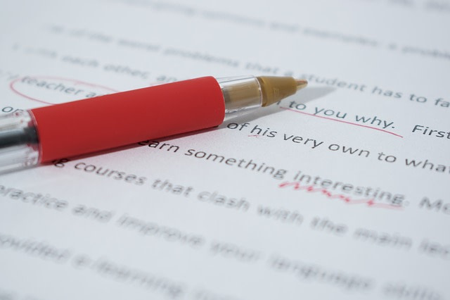 Proofreading a document