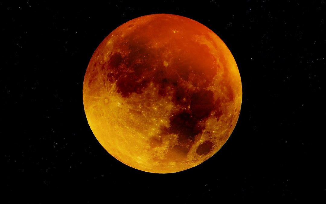 #Blood Moon Over Africa